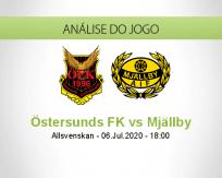 Prognóstico Östersunds FK Mjallby (06 Julho 2020)