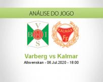 Prognóstico Varberg Kalmar (06 Julho 2020)