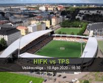 Prognóstico HIF Palloseura (10 Agosto 2020)