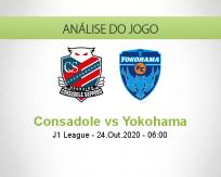 Prognóstico Consadole Sapporo Yokohama (24 Outubro 2020)