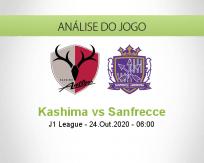 Prognóstico Kashima Antlers Sanfrecce Hiroshima (24 Outubro 2020)