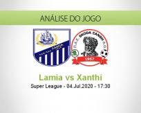 Prognóstico Lamia Xanthi (06 Julho 2020)