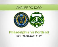 Philadelphia vs Portland