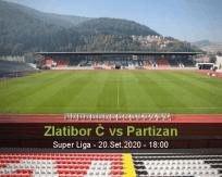 Prognóstico Zlatibor Čajetina Partizan (20 Setembro 2020)
