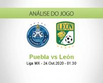 Prognóstico Puebla León (24 Outubro 2020)