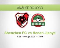 Prognóstico Shenzhen Henan Jianye (10 Agosto 2020)