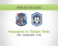 Qingdao Huanghai vs Tianjin Teda