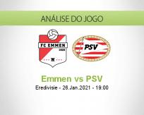 Emmen vs PSV