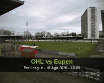 Prognóstico OH Leuven AS Eupen (10 Agosto 2020)
