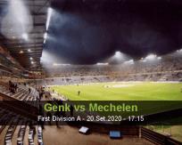 Prognóstico Genk Mechelen (20 Setembro 2020)
