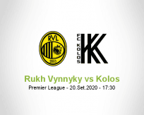Prognóstico Rukh Vynnyky Kolos Kovalivka (20 Setembro 2020)
