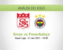 Prognóstico Sivas Fenerbahçe (21 Janeiro 2021)