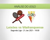 Prognóstico Leixões Vilafranquense (21 Janeiro 2021)