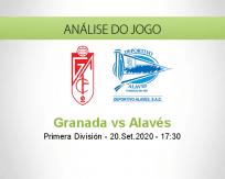 Prognóstico Granada Deportivo Alavés (20 Setembro 2020)