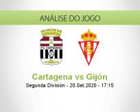 Prognóstico FC Cartagena Sporting Gijón (20 Setembro 2020)