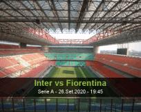 Internazionale vs Fiorentina
