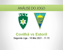 Prognóstico Covilhã Estoril (16 Maio 2021)