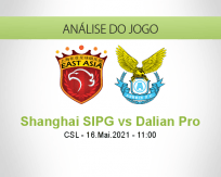 Prognóstico Shanghai SIPG Dalian Pro (16 Maio 2021)