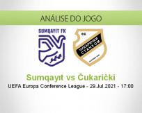 Prognóstico Sumqayıt Čukarički (29 Julho 2021)