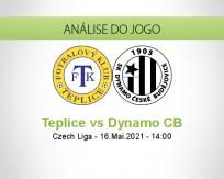 Prognóstico Teplice Dynamo CB (16 Maio 2021)