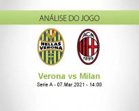 Verona vs Milan