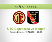 UTC Cajamarca vs Melgar