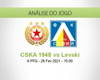 Prognóstico CSKA 1948 Levski (28 Fevereiro 2021)