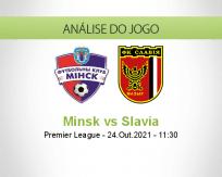 Prognóstico Minsk Slavia (24 Outubro 2021)