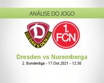 Prognóstico Dresden Nuremberga (17 Outubro 2021)
