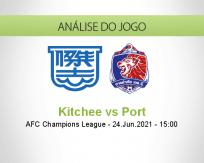 Prognóstico Kitchee Port (24 Junho 2021)