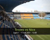 Prognóstico Troyes Nice (17 Outubro 2021)