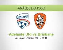 Prognóstico Adelaide Utd Brisbane (16 Maio 2021)