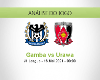 Prognóstico Gamba Urawa (16 Maio 2021)