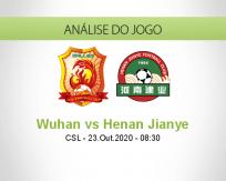 Prognóstico Wuhan Zall Henan Jianye (23 Outubro 2020)