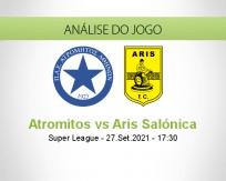 Atromitos vs Aris Salónica