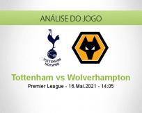 Prognóstico Tottenham Wolverhampton (16 Maio 2021)