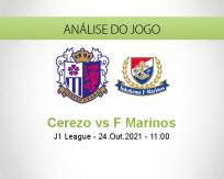 Prognóstico Cerezo F Marinos (24 Outubro 2021)