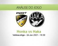 Prognóstico Honka Haka (24 Junho 2021)