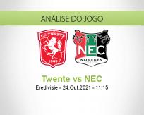 Prognóstico Twente NEC (24 Outubro 2021)