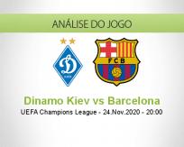 Dínamo Kiev vs Barcelona