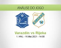 Prognóstico Varazdin Rijeka (16 Maio 2021)