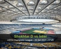 Shakhtar D vs Inter