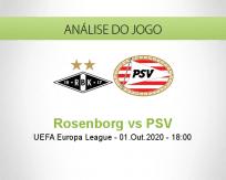Rosenborg vs PSV