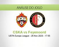 CSKA vs Feyenoord