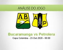 Prognóstico Atlético Bucaramanga Alianza Petrolera (23 Outubro 2020)