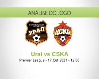 Ural vs CSKA