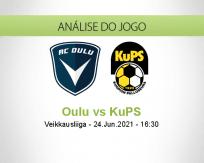 Prognóstico Oulu KuPS (24 Junho 2021)
