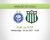 Prognóstico HJK KTP (24 Junho 2021)