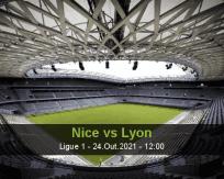 Prognóstico Nice Lyon (24 Outubro 2021)