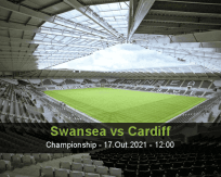 Prognóstico Swansea Cardiff (17 Outubro 2021)